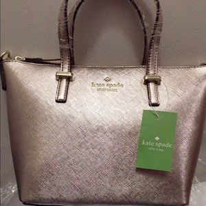 Brand New Kate Spade rose gold purse